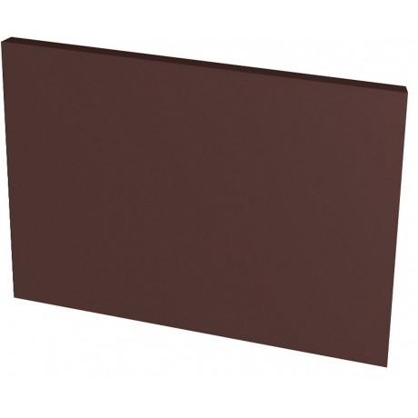 Natural Brown płytka podstopnicowa gładka 30x14,8x1,1