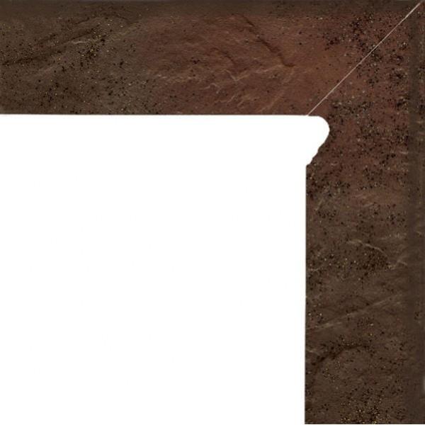 SEMIR Brown cokół dwuelementowy 30x8,1x1,1 Prawy
