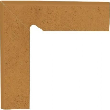 Aquarius Brown Cokół Schodowy Lewy 30x8,1x1,1