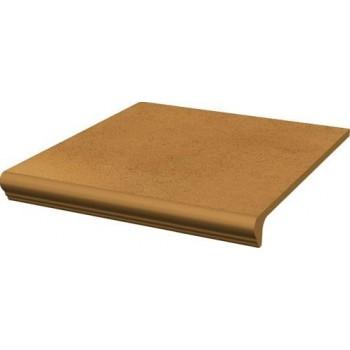 Aquarius Brown Stopnica prosta z kapinosem 30x33x1,1