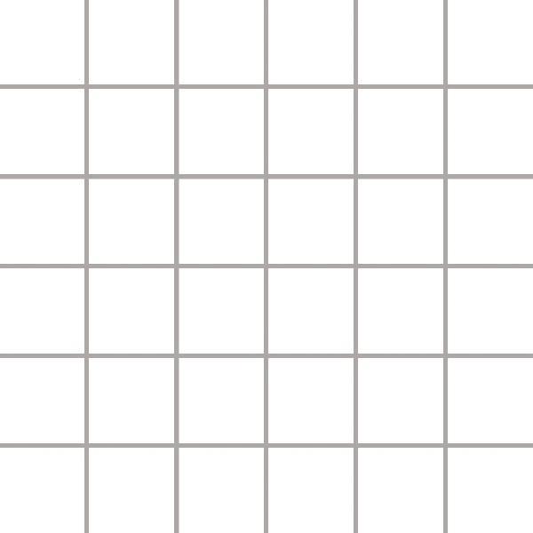ALBIR BIANCO mozaika 30x30, kostka 4,8x4,8
