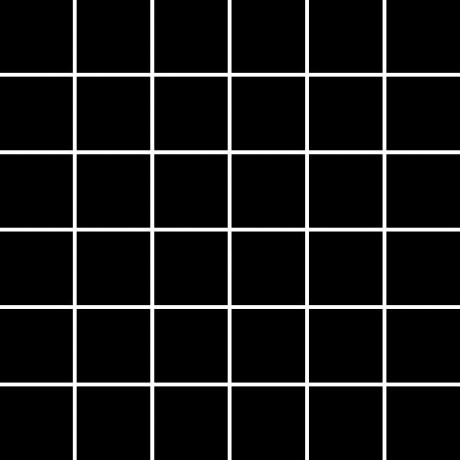 ALBIR NERO mozaika 30x30, kostka 4,8x4,8