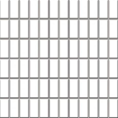 Altea Bianco mozaika 30x30, kostka 2,3x4,8
