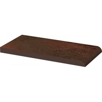 Semir Brown Parapet gładki 20x10x1,1