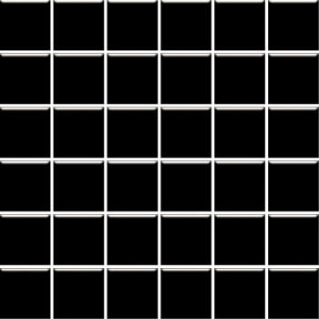 Altea Nero mozaika 30x30, kostka 4,8x4,8