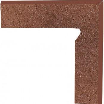 Taurus Brown 30x8,1x1,1 Cokół schodowy dwuelementowy Prawy