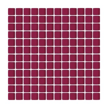 Bordowa mozaika szklana 29,8x29,8