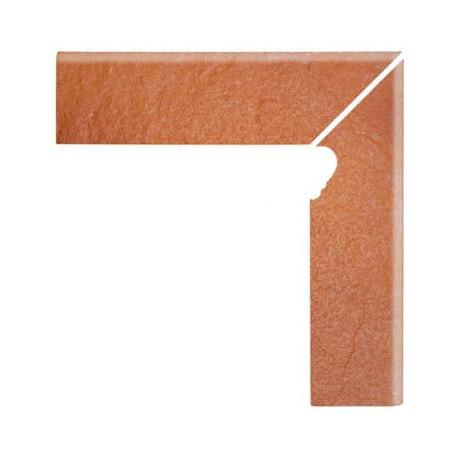 Solar orange cokół schodowy Prawy 3-D 30x8