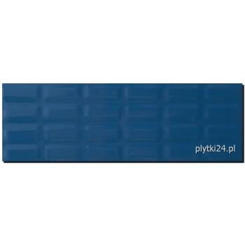 Blue Glossy Pillow struktura 25x75 G.I