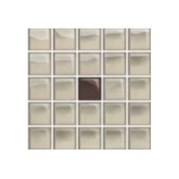 Glass Beige/Brown Mosaic A New 14,8x14,8