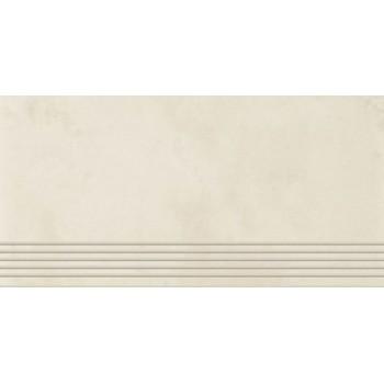 Tecniq Bianco stopnica półpoler 59,8x29,8