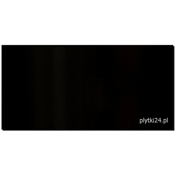 black glossy 29,7x60