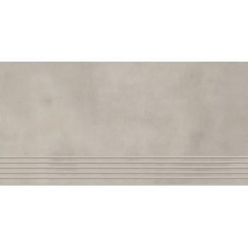 Tecniq Grys stopnica półpoler 59,8x29,8