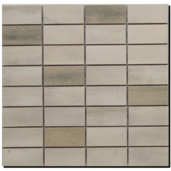 FLOORWOOD WHITE-BEIGE MIX MOSAIC 29X29,5 G.I
