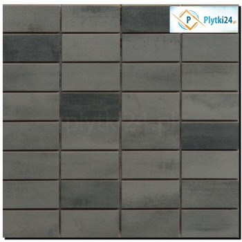 FLOORWOOD GREY-GRAPHITE MIX MOSAIC 29X29,5 G.I