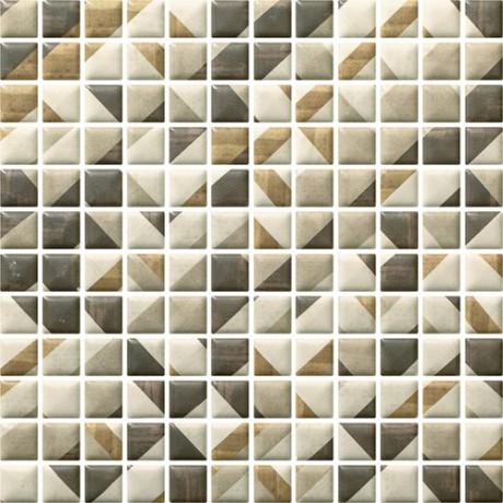 Enya Grafit mozaika prasowana 29,8x29,8 GAT.I