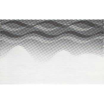 NEGRA WHITE INSERTO WAVES 25X40 G.O