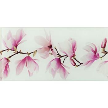 Dekor ścienny szklany Tango flower 44,8 x 22,3