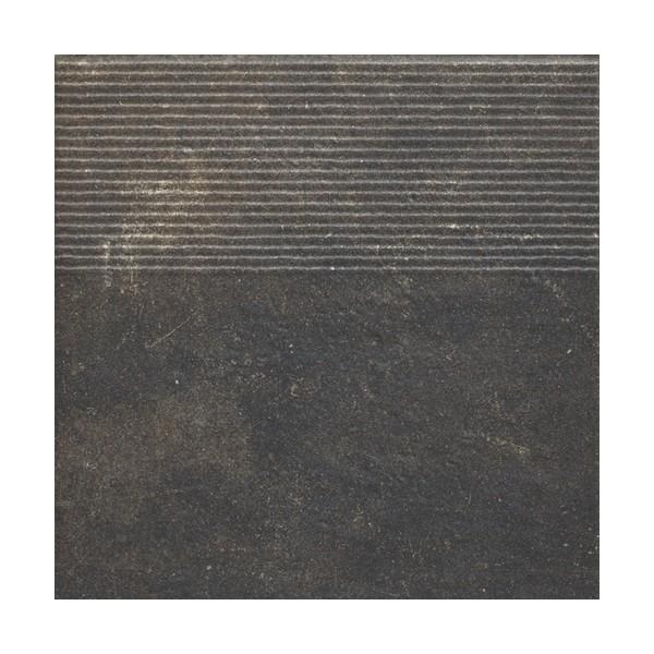 Stopnica prosta Scandiano brown 30x30