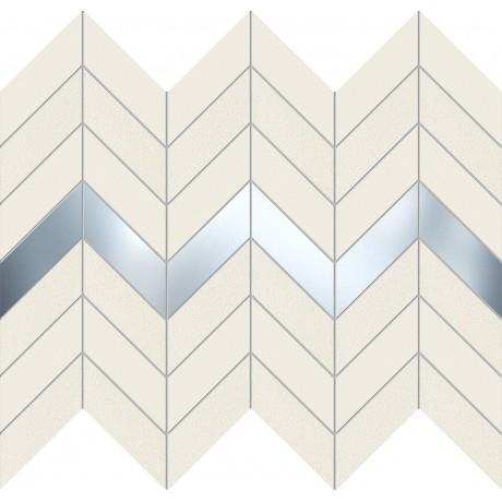 Biel Mozaika ścienna 29,8x24,6 GAT.I