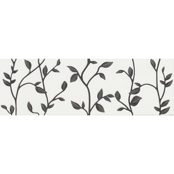WINTER VINE WHITE INSERTO FLORAL 29x89