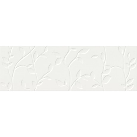 WINTER VINE WHITE STRUCTURE 29x89