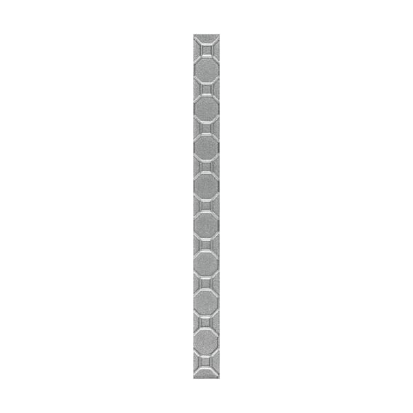 Martynika Silver Listwa Szklana 3 x 40