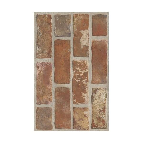 Loft Brown Ściana Struktura Brick 25 x 40