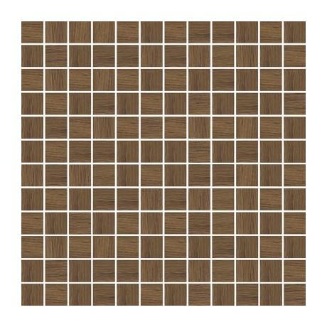 Loft Brown Wood Mozaika Prasowana 29.8x29.8 GAT.I