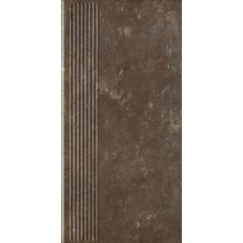 Ilario Brown Stopnica Prosta 30 x 60