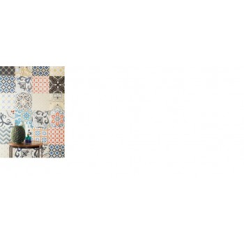 Patch White 223x223 Dekory ścienne (20 różnych wzorów w jednym opakowaniu)