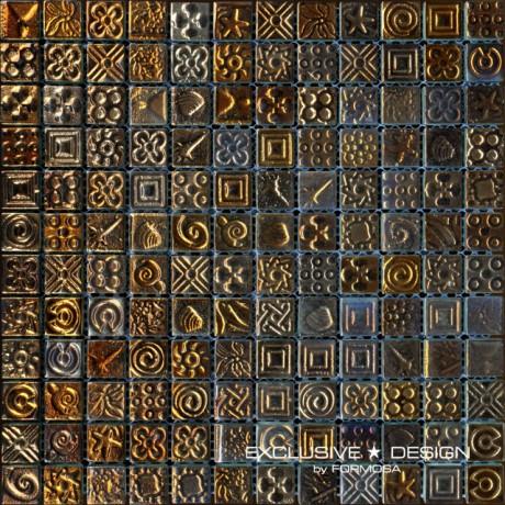 Glass mosaic 300x300x8 Nr 52 A-MGL08-XX-052