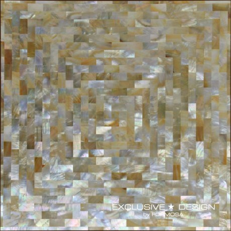 Seashell mosaic 300x300x8 No. 12 (AERO)A-MSH08-ZZ-012