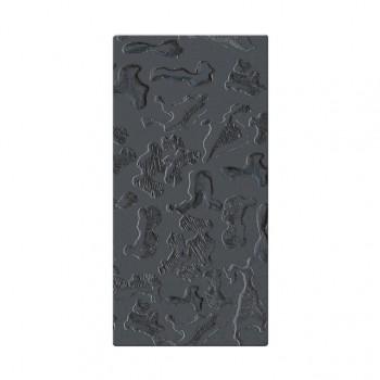 Mozaika szklana Componer grafit struktura 247x123x6 mm Nr 18 A-CGL06-XX-018