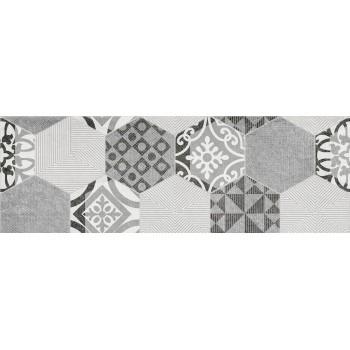 Portis dekor Heksagon 25x75