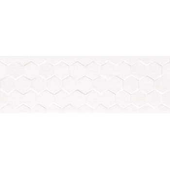 Charisma Hexagon White Glossy PŁYTKA ŚCIENNA 25x75