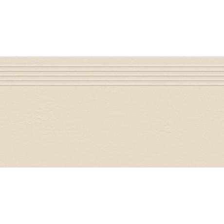 INDUSTRIO IVORY STOPNICA MAT REKTYFIKOWANA 29.6X59.8