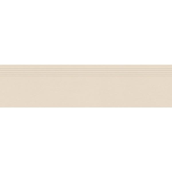 INDUSTRIO IVORY STOPNICA MAT REKTYFIKOWANA 29.6X119.8