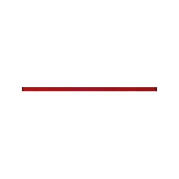 Avangarde czerwona listwa szklana 60x2 G.I