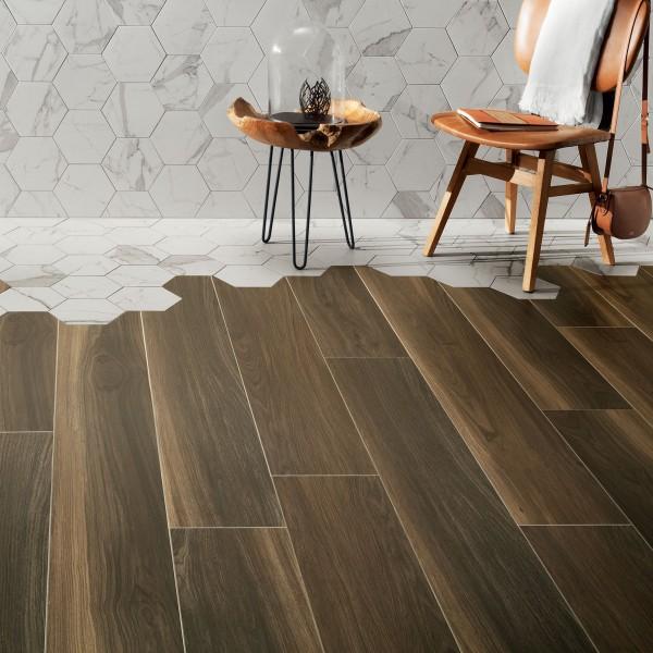 Wood Pile brown STR 179,8x23