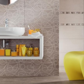 Mozaika Biloba creme 32,4x32,4