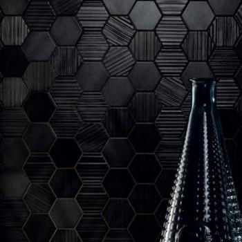 Horizon hex black mozaika 28,9x22,1 GAT.I