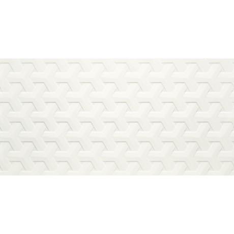 Harmony Bianco Ściana A Struktura 30x60 GAT.I