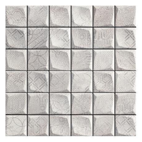 Harmony Grys Mozaika Prasowana 29,8x29,8 GAT.I