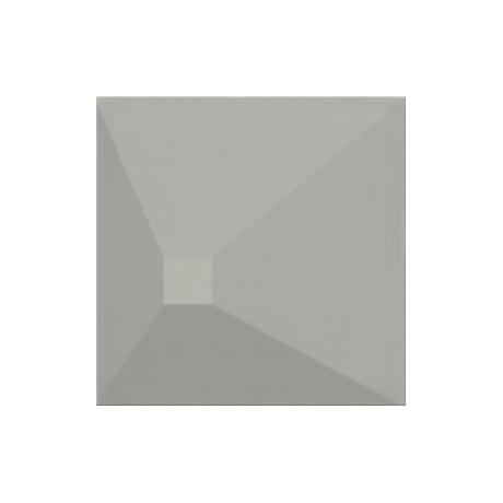 Monoblock Grey matt 3D Effect 20x20 GAT.I