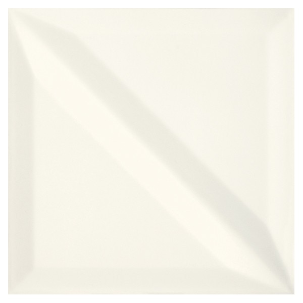 Monoblock White Half Bar Glossy 20x20 GAT.I