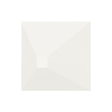 Monoblock White Matt 3D Effect 20x20 GAT.I