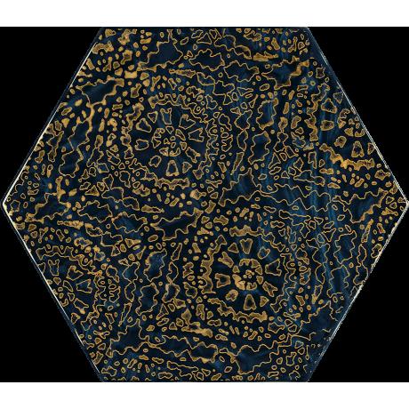 Urban Colours Blue Inserto Szklane Heksagon A 17.1x19.8 GAT.I