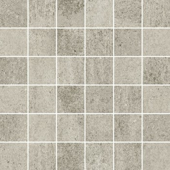 Grava Light Grey Mosaic Matt 29,8x29,8 GAT.I