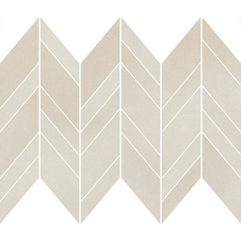 SAFARI CREAM CHEVRON MIX MOSAIC MATT 29,8x25,5 GAT.I